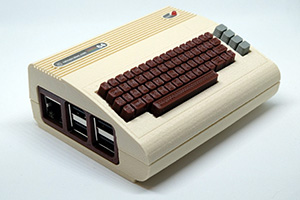 CONSOLE RETROGAMING CON RASPBERRY PI COMMODORE 64 LIMITED EDITION