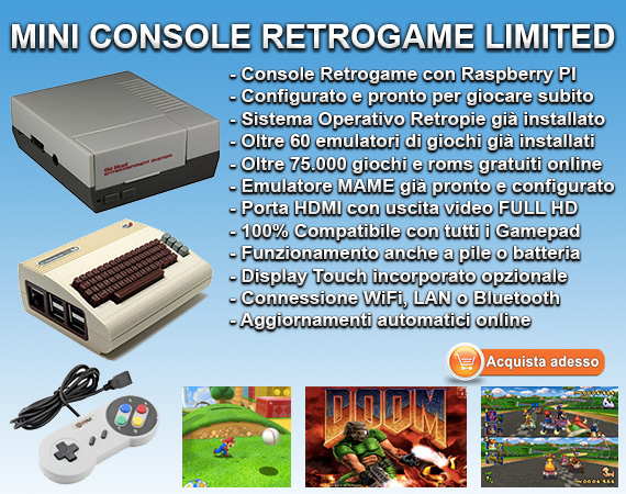 Mini Retro Console Retrogaming Limited