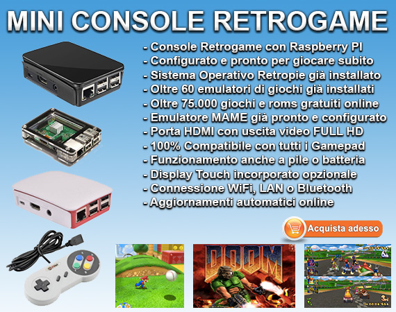 Mini Retro Console Retrogaming